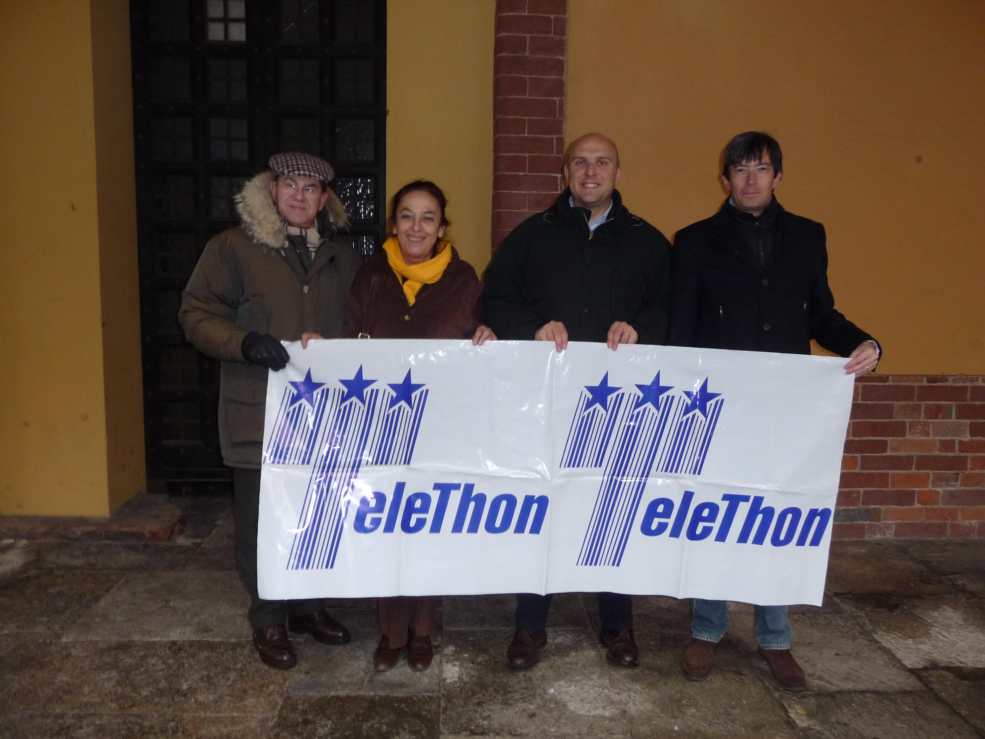 Raccolta fondi a sostegno di Telethon