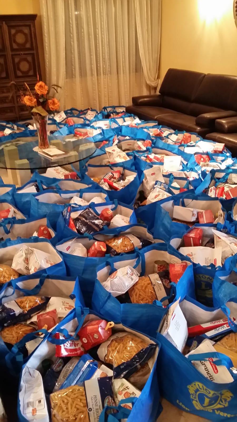 Raccolta alimentare: 156 borse per le famiglie in difficoltà