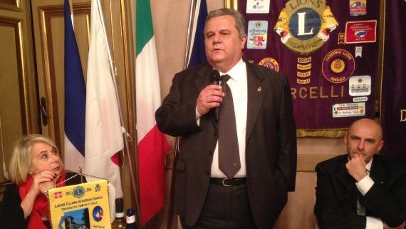 Visita del governatore Rino Porini