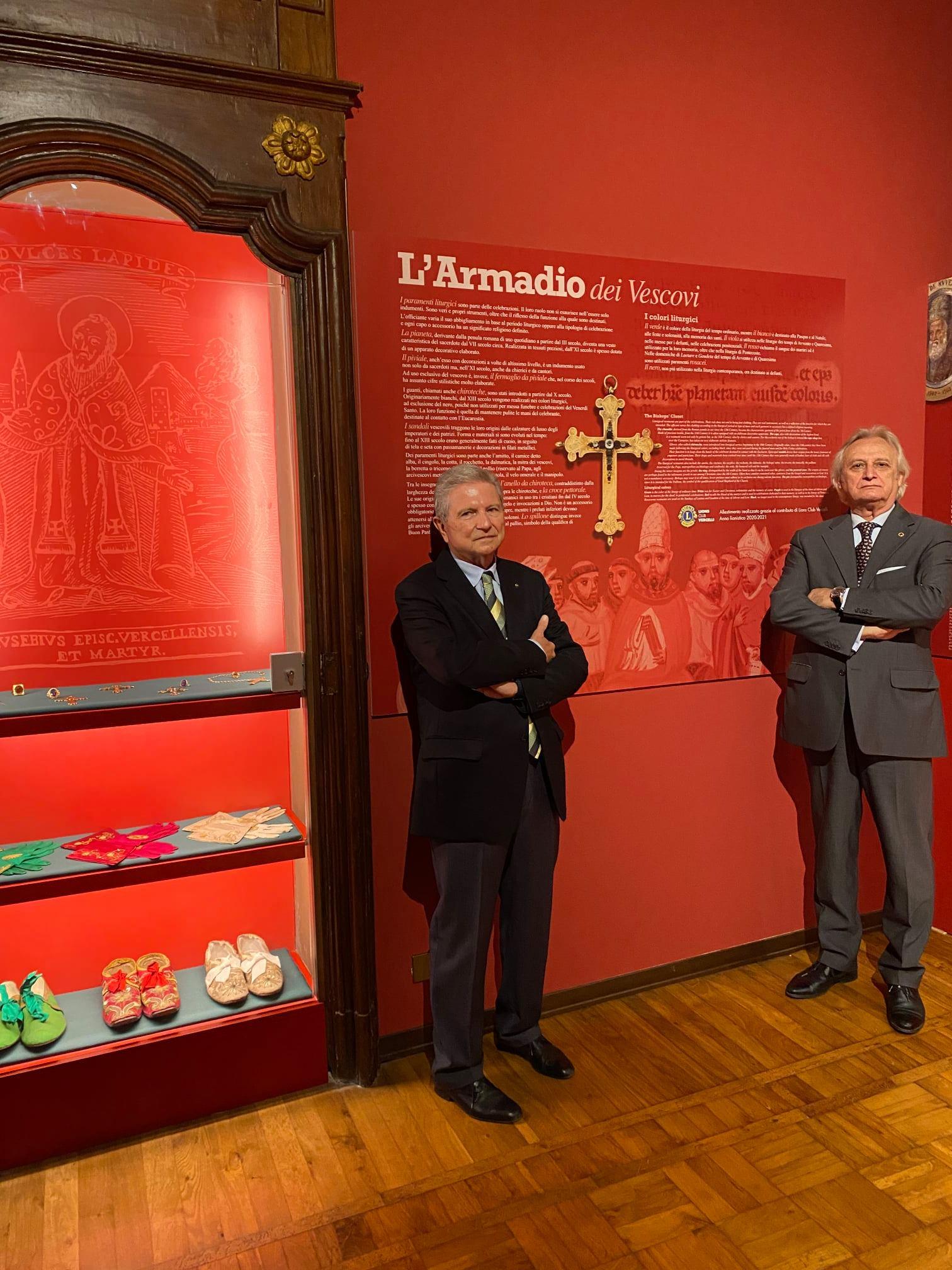 Armadio del vescovo al Museo del tesoro del duomo