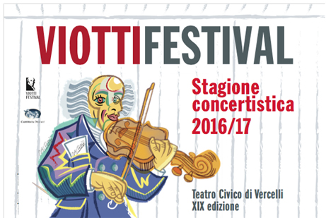 Il club sostiene il ViottiFestival di Vercelli.
