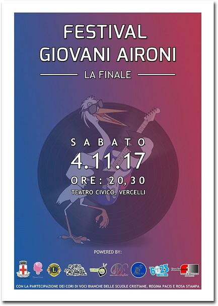 SABATO 4.11.2017 FINALE FESTIVAL GIOVANI AIRONI