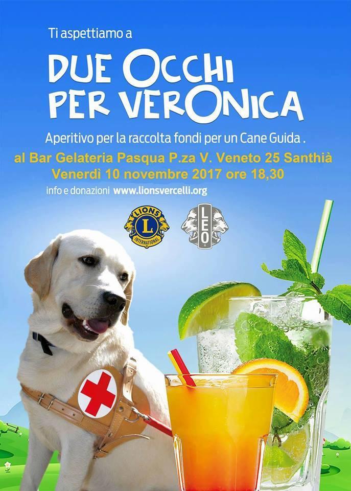 Continua la raccolta di fondi per il cane guida per Veronica